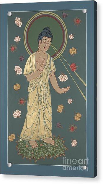 The Amitabha Buddha Descending 247 Acrylic Print