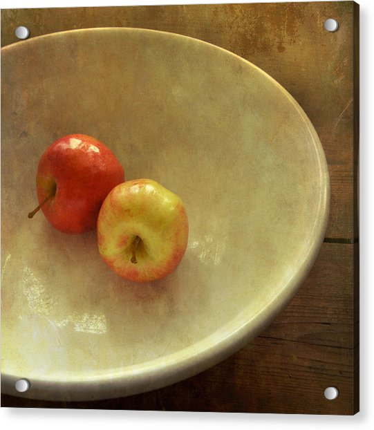 The Apple Bowl Acrylic Print