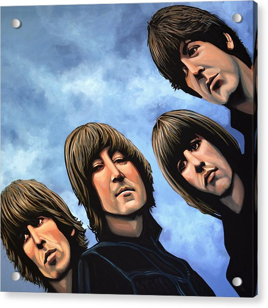 The Beatles Rubber Soul Acrylic Print
