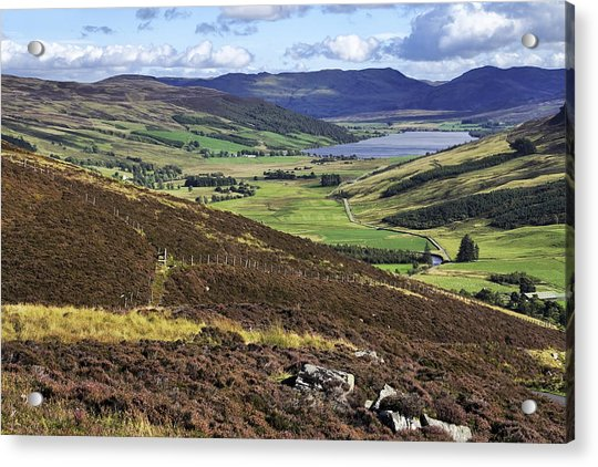 Acrylic Print featuring the photograph The Beauty Of The Scottish Highlands by Jason Politte