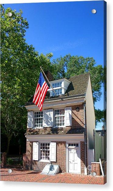 The Betsy Ross House Acrylic Print