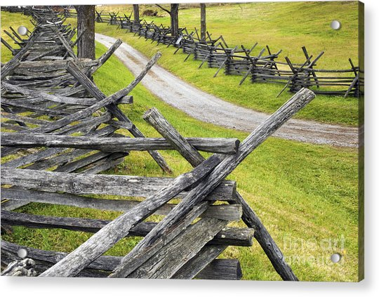 The Bloody Lane At Antietam Acrylic Print