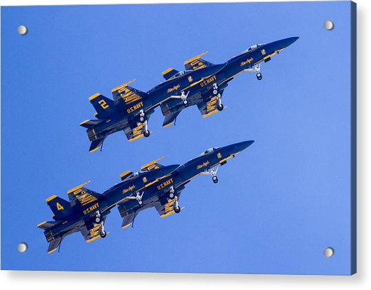 The Blue Angels In Action 3 Acrylic Print