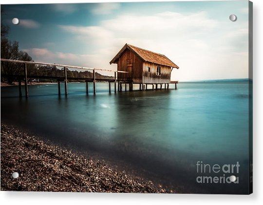 The Boats House II Acrylic Print