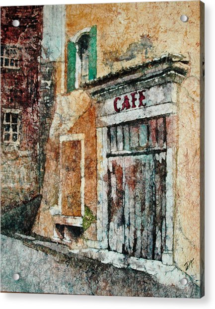 The Cafe Is Closed Acrylic Print