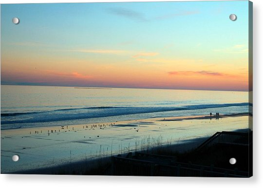 Acrylic Print featuring the photograph The Day Ends by Cynthia Guinn
