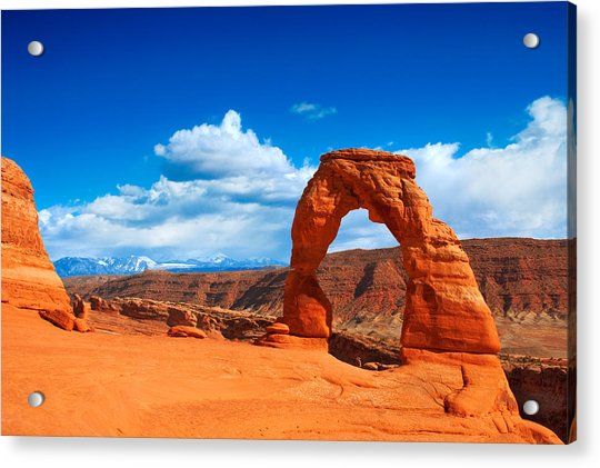The Delicate Arch Acrylic Print