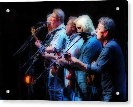 Acrylic Print featuring the photograph The Eagles Inline by Alice Gipson