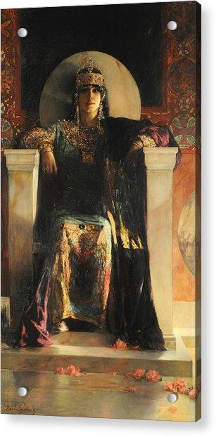 The Empress Theodora Acrylic Print