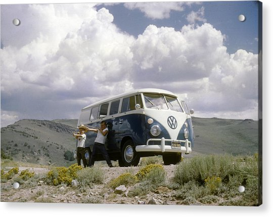 Acrylic Print featuring the photograph The First Of Many Volkswagens  by David Bailey