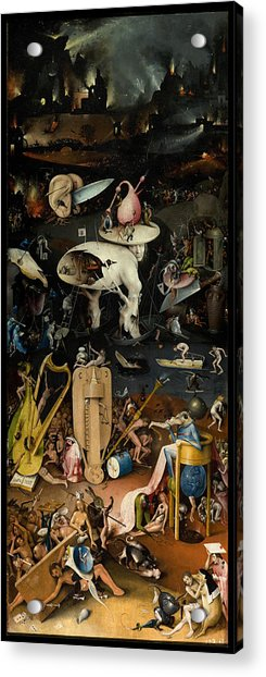 The Garden Of Earthly Delights. Right Panel Acrylic Print