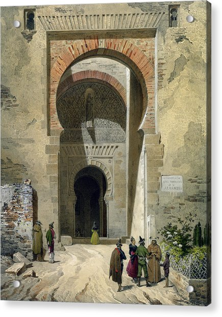 The Gate Of Justice Acrylic Print
