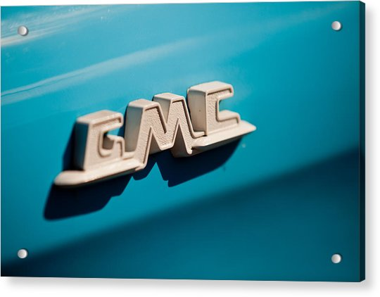 The Gmc Acrylic Print