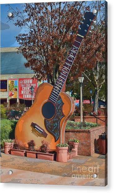 The Grand Ole Opry Acrylic Print