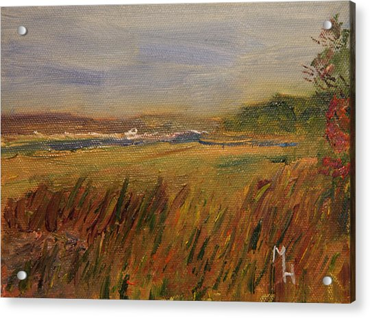 The Great Marsh Acrylic Print