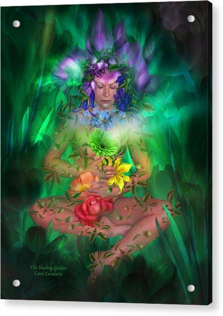 The Healing Garden Acrylic Print