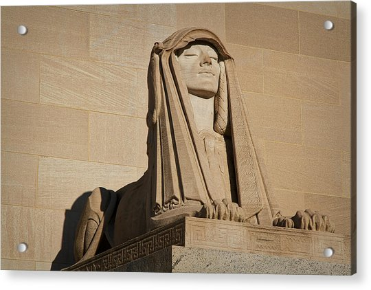 The House Of The Temple Sphinx #2 Acrylic Print