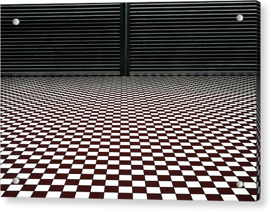 The Hypnotic Floor Acrylic Print