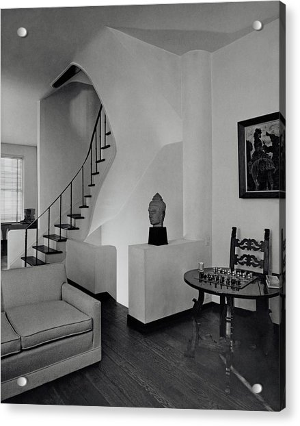 The Interior Of A Manhattan House Acrylic Print