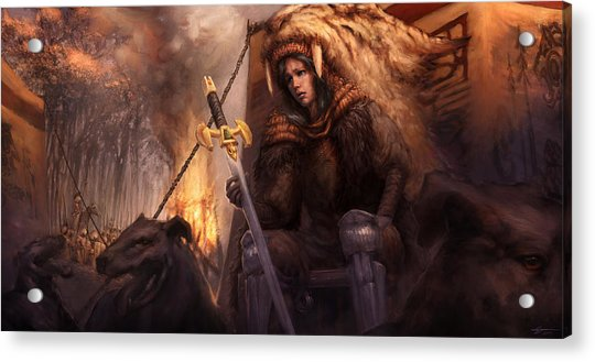 The King's Remains  Acrylic Print by Ethan Harris