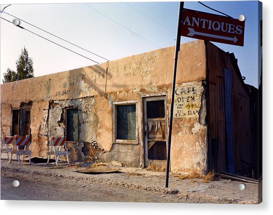 Acrylic Print featuring the photograph The Last Outpost by David Bailey