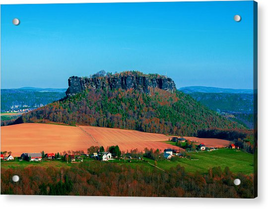 The Lilienstein Acrylic Print