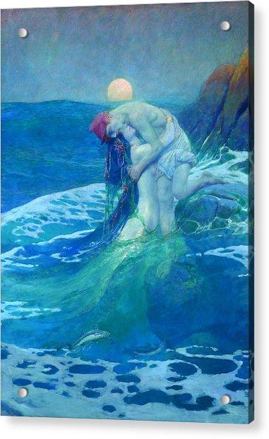 The Mermaid Acrylic Print