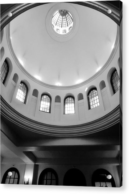 The Mission - Mike Hope Acrylic Print