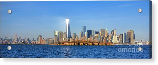 The New Manhattan Acrylic Print