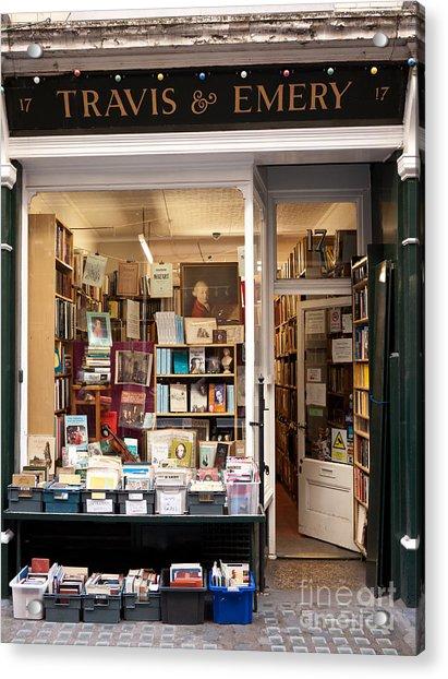 The Old Bookshop Acrylic Print