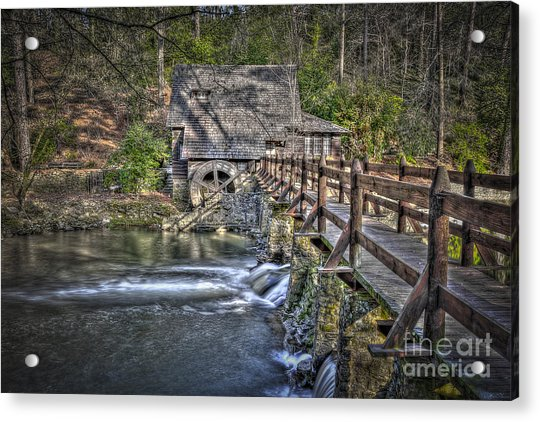 The Old Mill #1 Acrylic Print