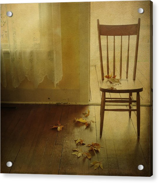 Acrylic Print featuring the photograph The Open Door by Sally Banfill