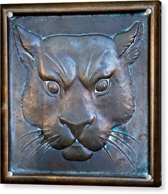 The Original Todd Hall Cougar Door Pulls - Washington State University Acrylic Print