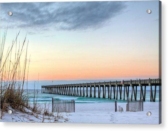 The Pensacola Beach Pier Acrylic Print