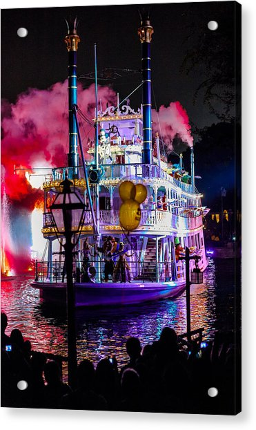 The Mark Twain Disneyland Steamboat  Acrylic Print