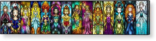 The Princesses Acrylic Print