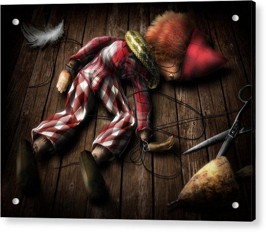 The Puppet... Acrylic Print