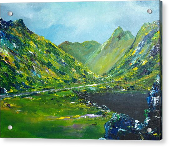 The Ring Of Kerry Acrylic Print