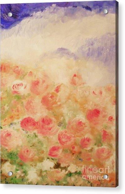 The Rose Bush Acrylic Print