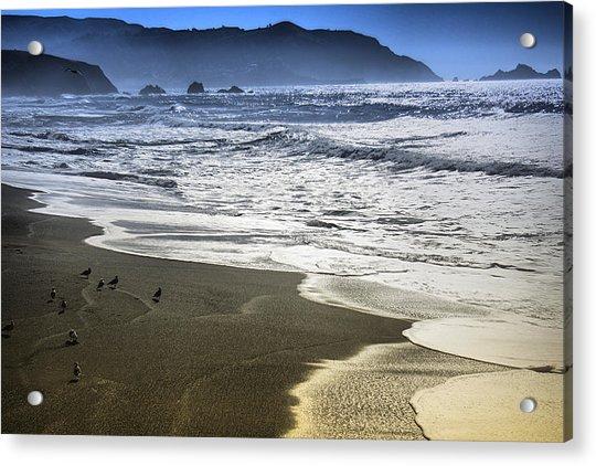The Shore Acrylic Print