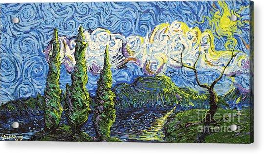 The Shores Of Dreams Acrylic Print