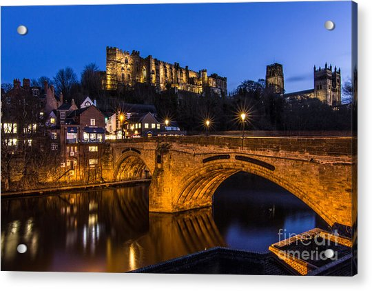 The Stunning City Of Durham In Northern England Acrylic Print