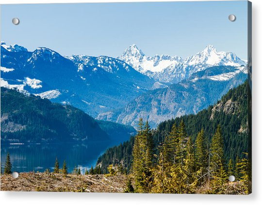The Upper Campbell Acrylic Print