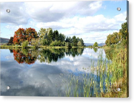 The View Across The Lake Acrylic Print