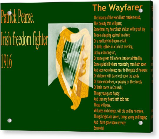 The Wayfarer Acrylic Print
