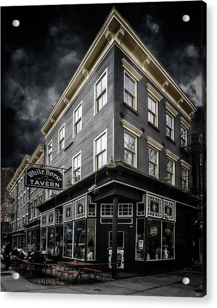 Acrylic Print featuring the photograph The White Horse Tavern by Chris Lord