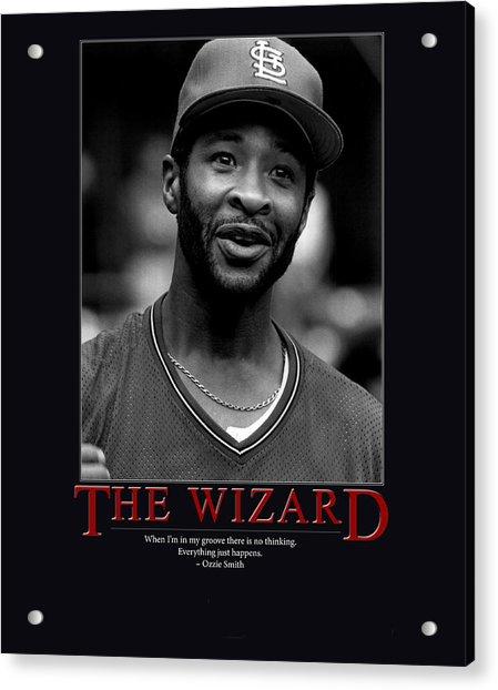 The Wizard Ozzie Smith Acrylic Print