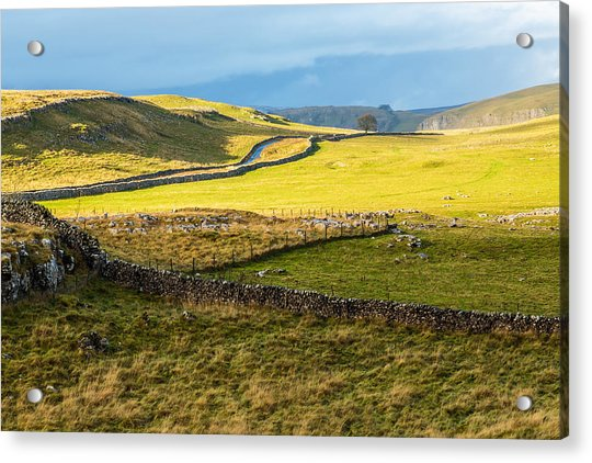 The Yorkshire Dales Acrylic Print