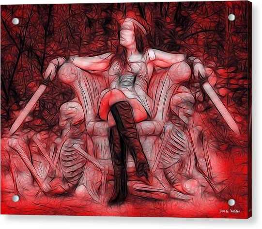 Throne Of Blood Acrylic Print