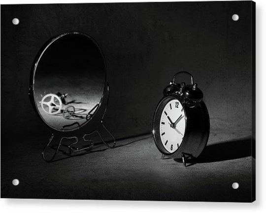 Time Is Just A ... Acrylic Print